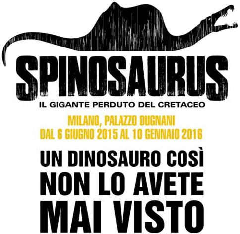 Mostra Spinosauro Milano